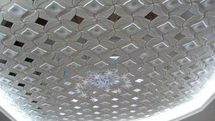 Потолочная плитка из пенопласта. Виды, применение и цена потолочной плитки из пенопласта