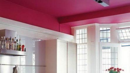 Как покрасить потолок? В какой цвет покрасить потолок?