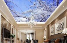 Натяжные потолки с фотопечатью, их особенности, виды, цена, плюсы и минусы