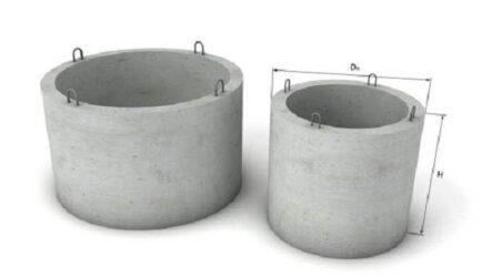 Бетонные кольца для колодцев, их виды, размеры и цена