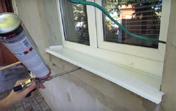 Как-установить-отливы-на-пластиковые-окна-7