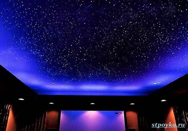 Натяжной-потолок-звездное-небо-его-особенности-виды-и-цена-1
