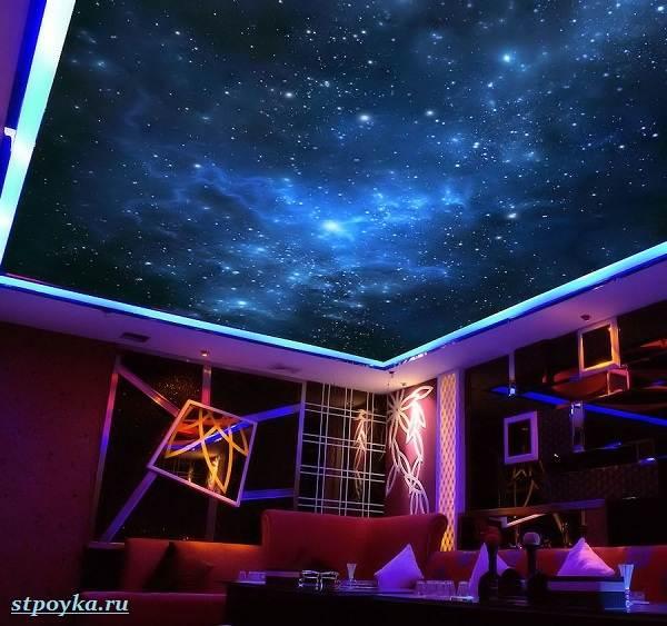 Натяжной-потолок-звездное-небо-его-особенности-виды-и-цена-2