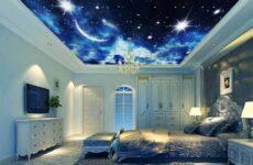 Натяжной потолок звездное небо, его особенности, виды и цена